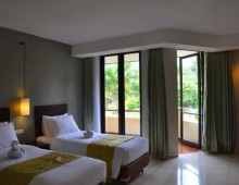 THE BATU Hotel & Villas Deluxe Twinbed Room
